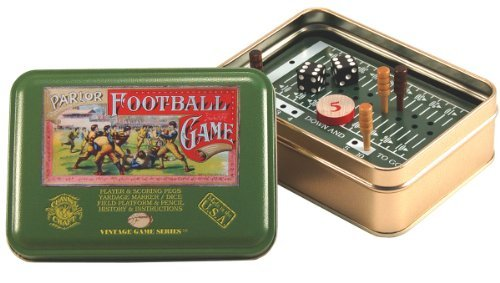 Toy Tin Vintage Football [並行輸入品] B07SFVMQS4