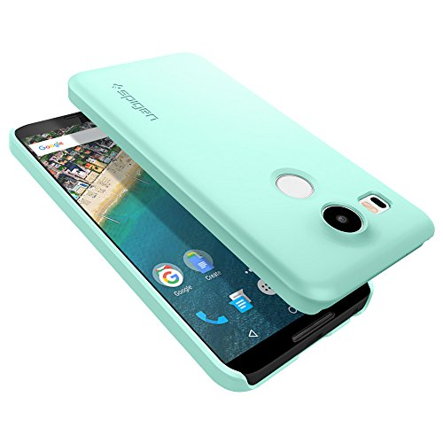 Spigen Thin Fit Nexus 5x Case with Premium Matte Finish Coating for Nexus 5x - Mint