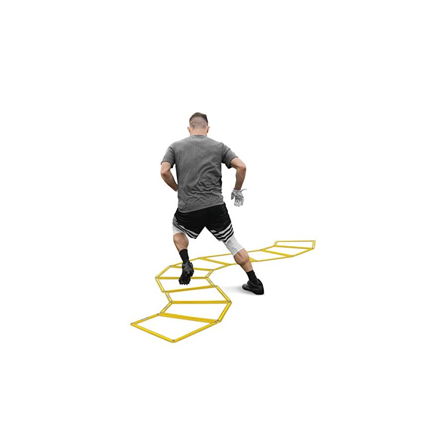 SKLZ Agility Trainer Pro Multi Surface Trapezoid Agility Trainers. Set of 10