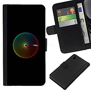 NEECELL GIFT forCITY // Billetera de cuero Caso Cubierta de protección Carcasa / Leather Wallet Case for Sony Xperia Z1 L39 // Rango Pantone