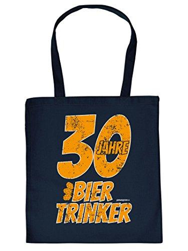 Tasche Einkaufstasche zum 30. Geburtstag 30 Jahre Biertrinker Geschenk zum 30. Geburtstag 30 Jahre Geburtstagsgeschenk 0aOMZL