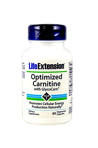 Life Extension Optimized Carnitine 60 vcaps (Pack of 2)