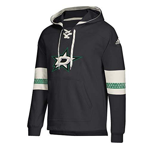 adidas 2018 NHL Vintage Jersey Pullover Hoodie (Large, Dallas -