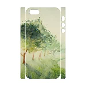 Personalized New Print Case for Iphone 5,5S 3D, Aqua Story Phone Case - HL-695750