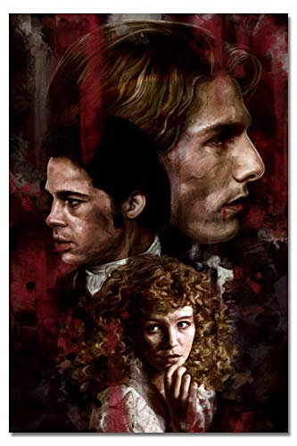 Jarky Love Interview with The Vampire Halloween Decorative Print Wall Poster Unframed 16x24 Inches]()