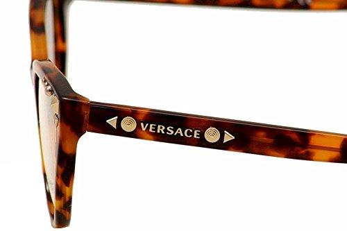 Versace Montures de lunettes 3191 Studs Pour Femme Cyclamen, 52mm BLONDE HAVANA