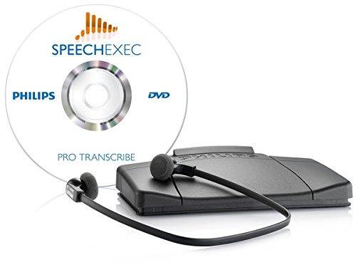 Sistema de transcripci/ón profesional con software de flujo de trabajo SpeechExec Philips LFH 7277