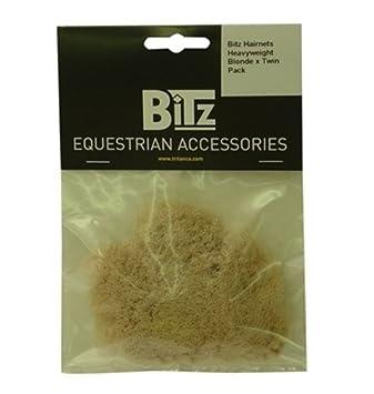 BITZ hairnets heavyweight EQUINE HORSE RIDER wear