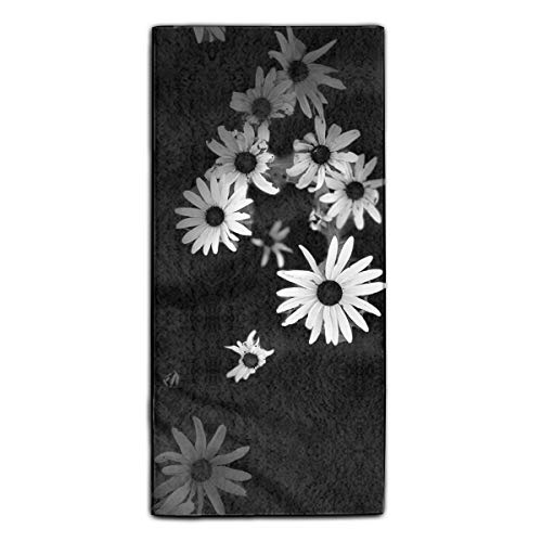 White Daisy Floral Decorative Dish Towels Ideal Tea Towels, Kitchen Dish Towels, or General Purpose Kitchen Towels Machine Washable