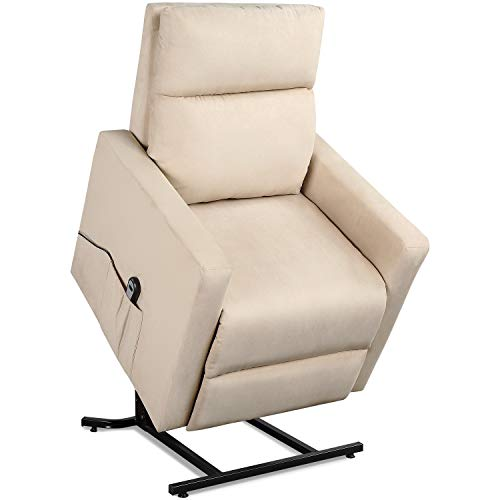Power Lift Chair Recliner -Lounge Chair Heavy Duty Mechanism, Easy Assembly, Supports 330 lbs with Remote Controller