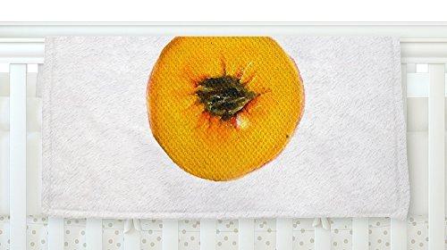 KESS InHouse Theresa Giolzetti Peach Orange White Fleece Baby Blanket 40 x 30 [並行輸入品]   B0785PY9WL