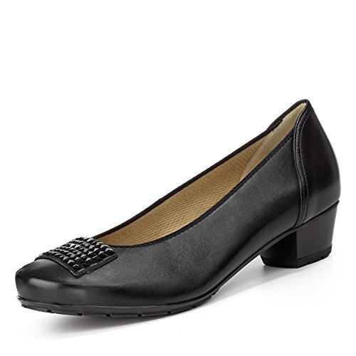 12 Larghezza Nero Pumps Nancy Ara H Donna 47603 dSWpq44fR
