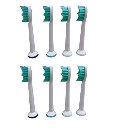 8 Replacement Brush Heads Compatible w/ Sonicare Philips Flexcare HX6950 HX6930