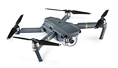 DJI Mavic Pro Collapsible Quadcopter: Includes Spare Battery, SanDisk 32GB MicroSD Card, eDigitalUSA Card Reader, eDigitalUSA Cleaning Kit & eDigitalUSA Microfiber Cleaning Cloth.