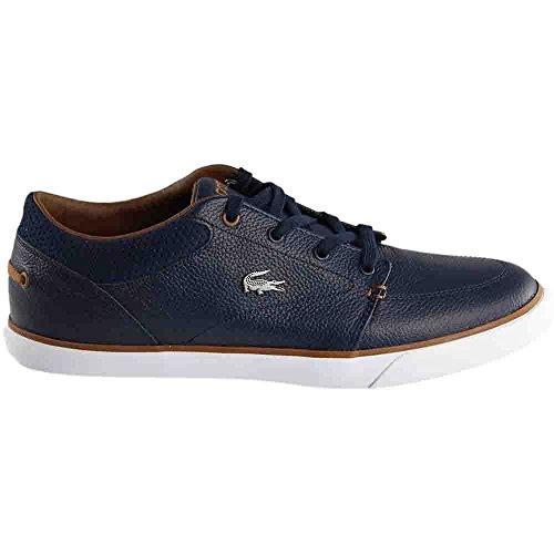 Lacoste Herre Bayliss Vulc 317 En Sneaker Navy / Brun
