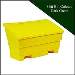 12 cúbicos hainsworth cubo para almacenaje de sal verde oscuro
