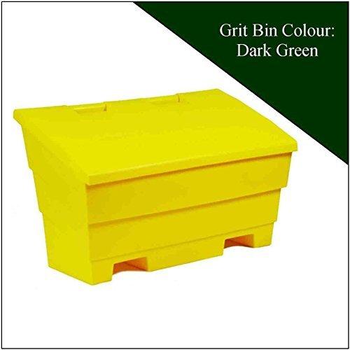 12 Cu Ft Grit Salt Storage Bin in Dark Green Kingfisher Direct