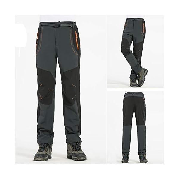 Solike Pantalons de Travail Pantalon Cargo Homme Femme Résistant à l'abrasion Genouillères avec Poches – Épaisse et…