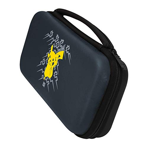 Nintendo Switch Pokemon Pikachu Element Deluxe Travel Case for Console and Games by PDP, 500-093
