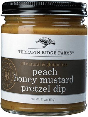 Terrapin Ridge Farms Dip, Peach Honey Mustard Pretzel, 11 Ounce