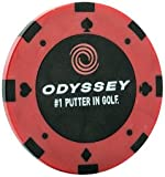 Odyssey Poker Chip Ball Marker,  3 Count