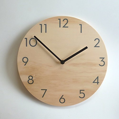 Plain with Numbers Wall Clock