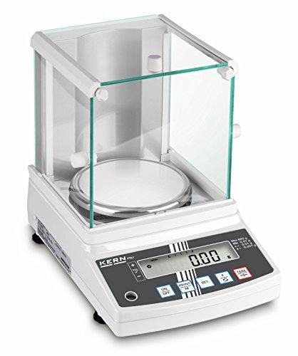 Präzisionswaage [Kern PNS 600-3] Der neue Standard im Labor mit dem robusten Stimmgabel-Wägesystem, Wägebereich [Max]: 620 g, Ablesbarkeit [d]: 0,001 g, Wägeplatte: Ø140 mm (Edelstahl), Windschutz