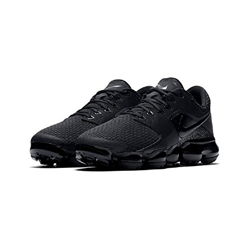 24c8f4e8e55 Nike Big Kids Air VaporMax (GS) Black Black-Dark Grey 917963-