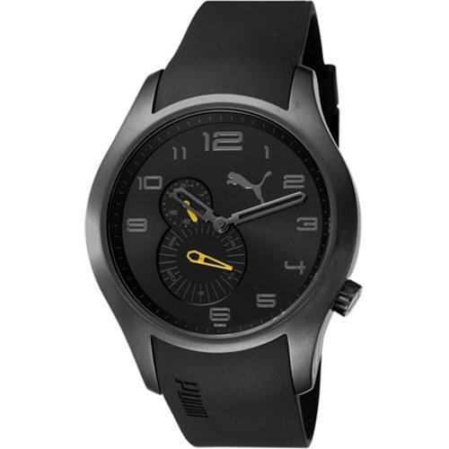 UPC 716459409034, Puma Men's Black Silicone Sports Watch PU102351004