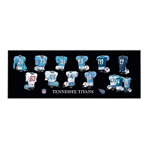 (Winning Streak NFL Tennessee Titans Unisex Tennessee Titans Legacy Uniform PlaqueTennessee Titans Legacy Uniform Plaque, Black, Plaque )