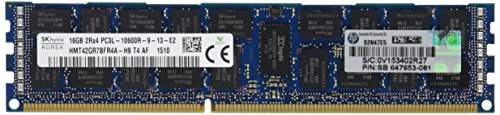 HP - IMSourcing IMS SPARE 16GB (1x16GB) Dual Rank x4 PC3L-10600R (DDR3-1333) Registered CAS-9 Low Voltage Memory Kit/S-Buy - 16 GB (1 x 16 GB) - DDR3 SDRAM - 1333 MHz DDR3-1333/PC3-10600 - ECC - Registered - 240-pin - DIMM -