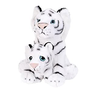 White Tiger Birth Of Life Plush (mother and baby) 10.5in