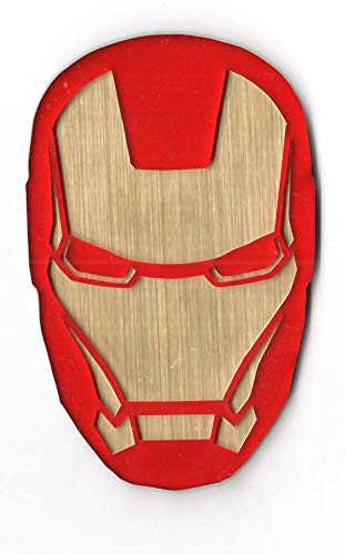 The Logo Man Iron Man 3d Emblem Decal Mobile Phone Amazon