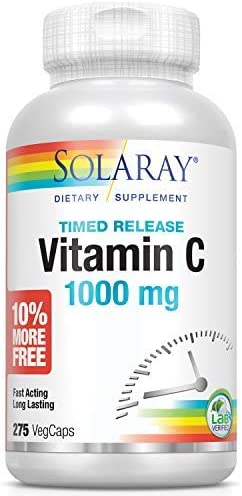 Solaray Time Release Vitamin 1000 product image