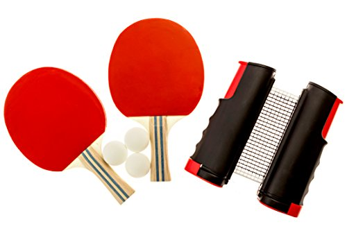 Endo Sports Table Tennis Set Ping Pong Paddles Table Tennis Net Ping Pong Balls Ping Pong paddle Set