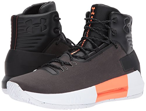 Under Armour Men's Drive 4 Premium Basketball Shoe, 001/Black, 9
