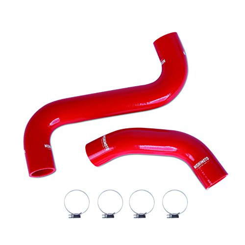 -01RD Subaru Impreza WRX and STI Silicone Radiator Hose Kit, 2001-2007, Red ()
