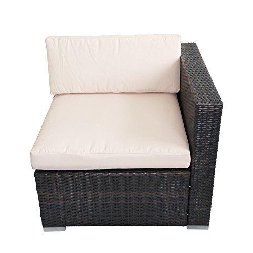 Outsunny Rattan Garden Wicker Patio Furniture Cushion Cover Sofa Cover  Replacement  Amazon co uk  Garden   Outdoors. Outsunny Rattan Garden Wicker Patio Furniture Cushion Cover Sofa