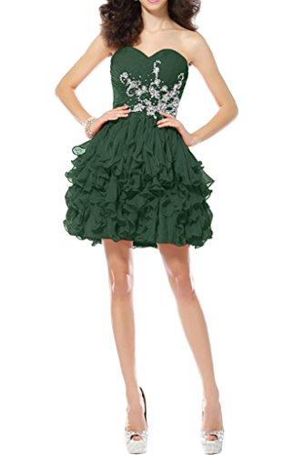 Victory Bridal - Robe - Trapèze - Femme -  vert - 50
