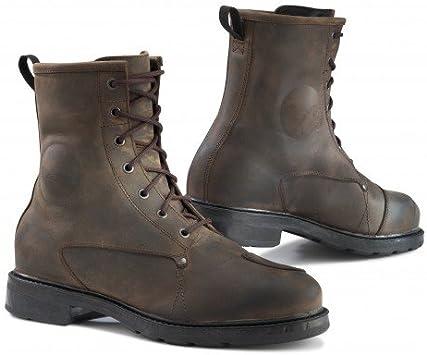 TCX 7300W X-Blend Waterproof Mens Street Motorcycle Boots Us 8.5 Black Size Eu 42