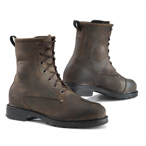 TCX X-Blend WP Men's Off-Road Motorcycle Boots - Vintage Brown / Size 45 from TCX