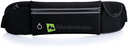 AdventureAustria Cinturón de Correr Súper Ligero Running Belt ...