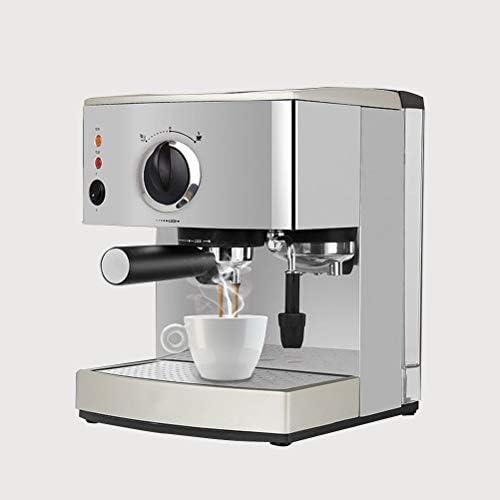 LTLWSH Espressomaschine, 920W Starke Espresso-Automat,15 Bar,1.5L, Dampfdüse zum Aufschäumen, Automatischer Druckablass Tropfschale Kaffee-Maschine
