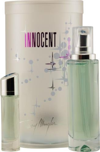 Angel Innocent By Thierry Mugler For Women Eau De Parfum Spray .8 Oz & Eau De Parfum .17 Oz (Angel Innocent Gift Set)