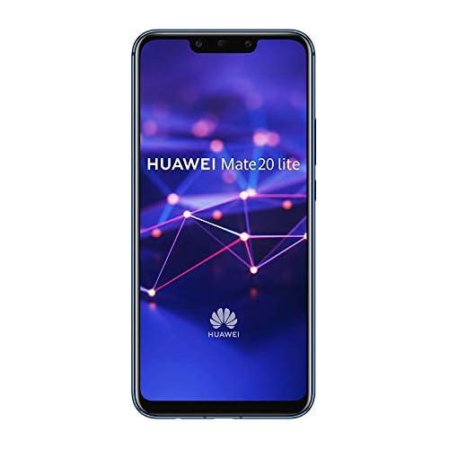 Huawei Mate 20 Lite Smartphone Dual SIM de 6 3 Full HD Kirin 710 4 GB de RAM 64 GB de memoria interna cámara dual de 24 2 MP azul