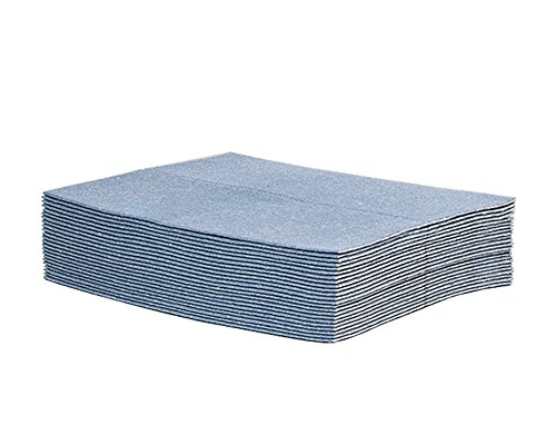 New Pig Water Absorbent Pads - Super Water Absorbing Mat Pads for Basement and Garages - Pack of 25