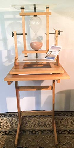 (One of a Kind Handmade Hourglass Sculpture by Architectural Artist Don Carl 44