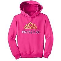 TeeStars - Princess Crown Gift for Daughter - Little Girl Toddler Hoodie