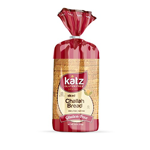 Katz, Gluten Free Sliced Challah, 18 Ounce, (1 Pack) ()