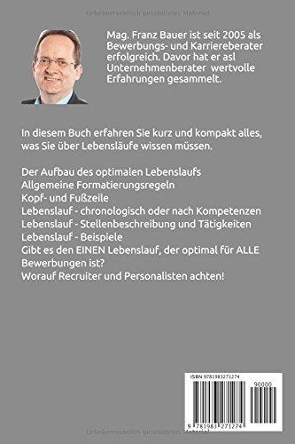 Lebenslauf Die Besten Tipps Und Tricks Franz Bauer Amazonde
